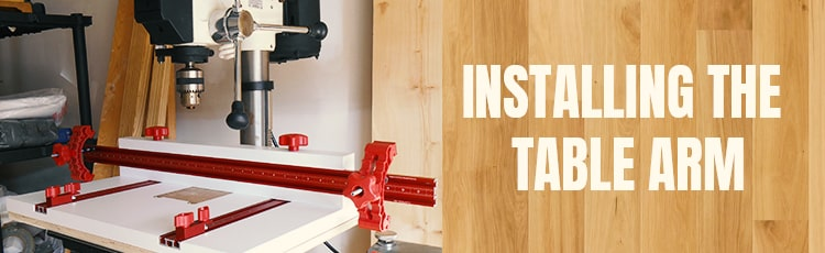 Installing-the-table-arm