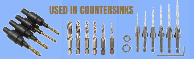 Used-In-Countersinks
