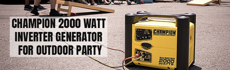 Champion-2000-watt-inverter-generator-for-Outdoor-Party