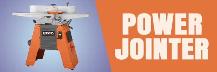 Tools for working wood: Power jointer