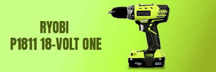 Ryobi-P1811-18-Volt-ONE+-Lithium-Ion-Compact-Drill