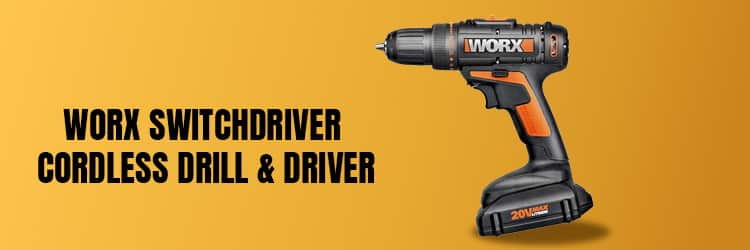 Worx-Switchdriver-Cordless-Drill-&-Driver