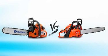 battery powered chainsaw vs gas