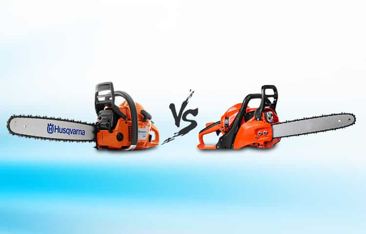 Battery Powered Chainsaw vs Gas Powered Chainsaw Compared