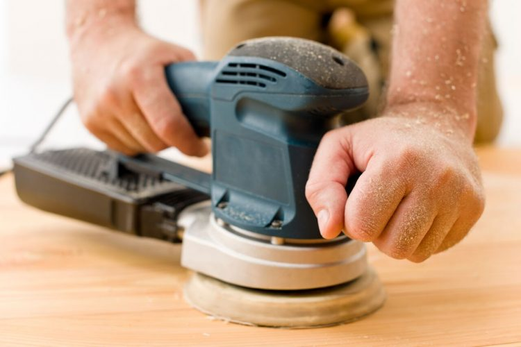 How to Sand Safely with an Electric Sander & a Hand Sander