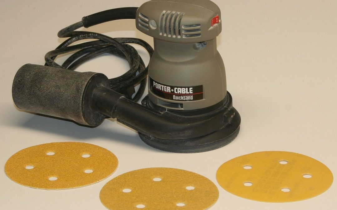 How To Use A Random Orbital Sander: Choose the right sandpaper