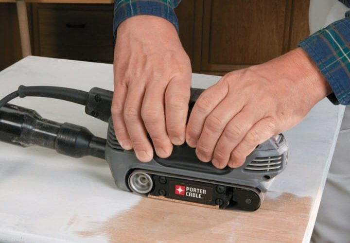 How to Use a Belt Sander – 4 Easy Steps with Tips