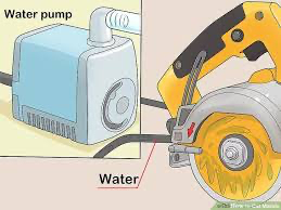 how to use a wet saw; Connect Water to the Wet Saw