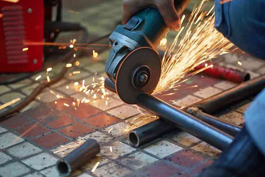 Angle Grinder to Cut Metal