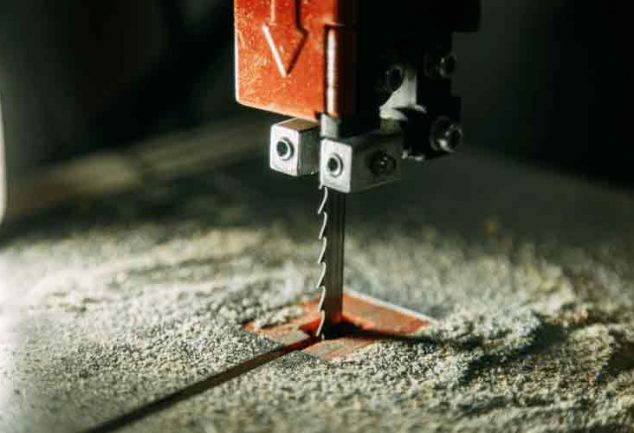 How to measure bandsaw blade