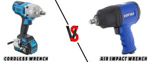 Difference Between air impact wrench and cordless
