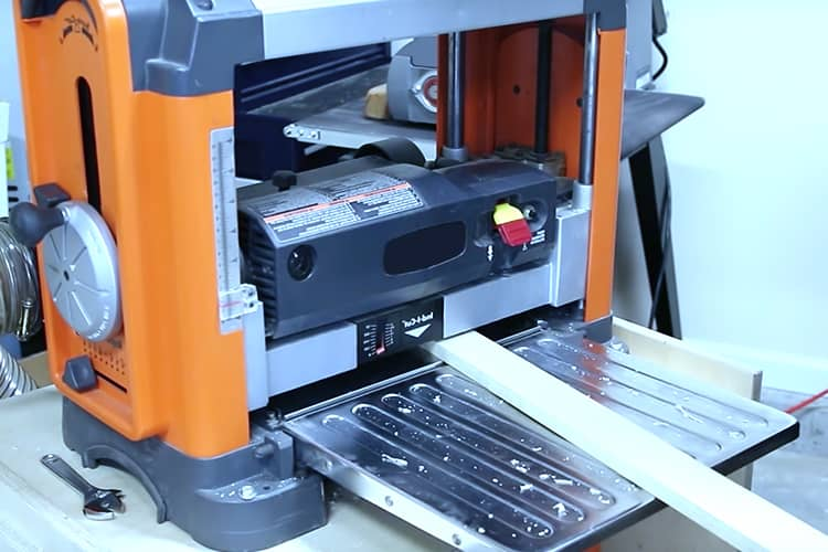how to use a benchtop planer