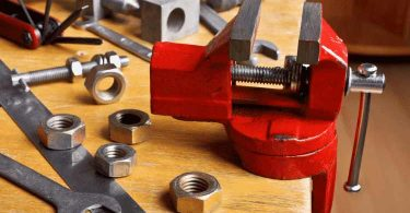 installing a bench vise