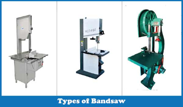 Types of Bandsaw